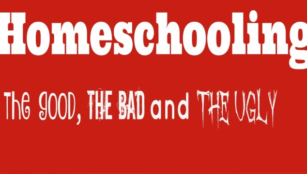 Homeschooling, the good, the bad and the ugly