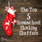 5 Homeschool Stocking Stuffers