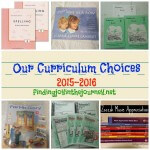 Our Homeschool Curriculum 2015-2016