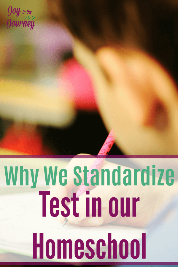 Do I think everyone should test? NO! Do I use standardized testing for our kids? Yes! Why? Here are 4 reasons why we use homeschool testing for our kids.