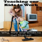 Teaching Our Kids to Work