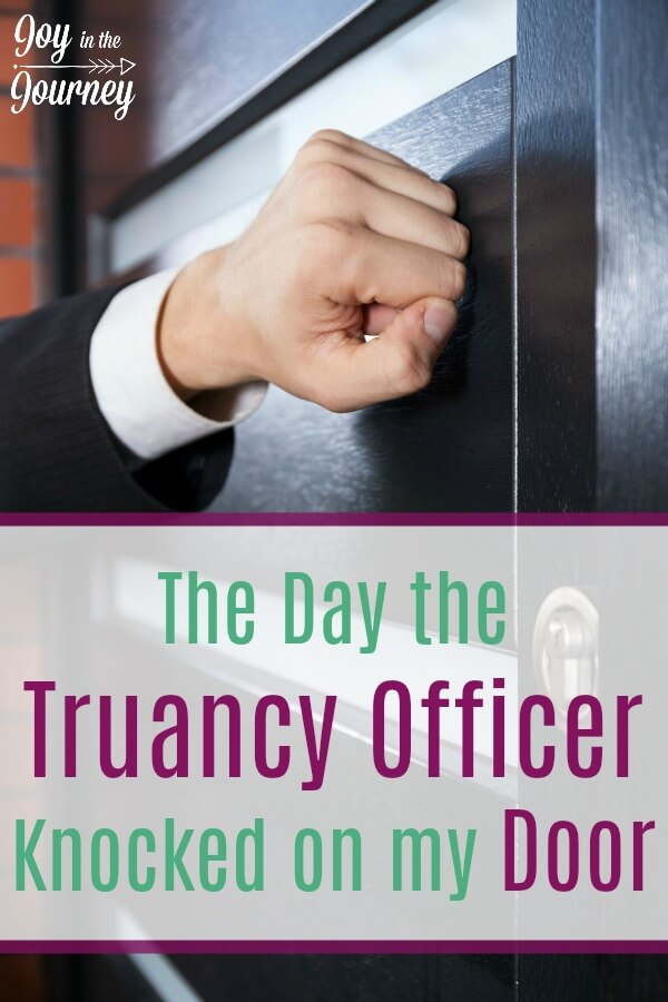 Homeschool parents, what would YOU do if a truancy officer knocked on your door. Are you prepared? You need to be!