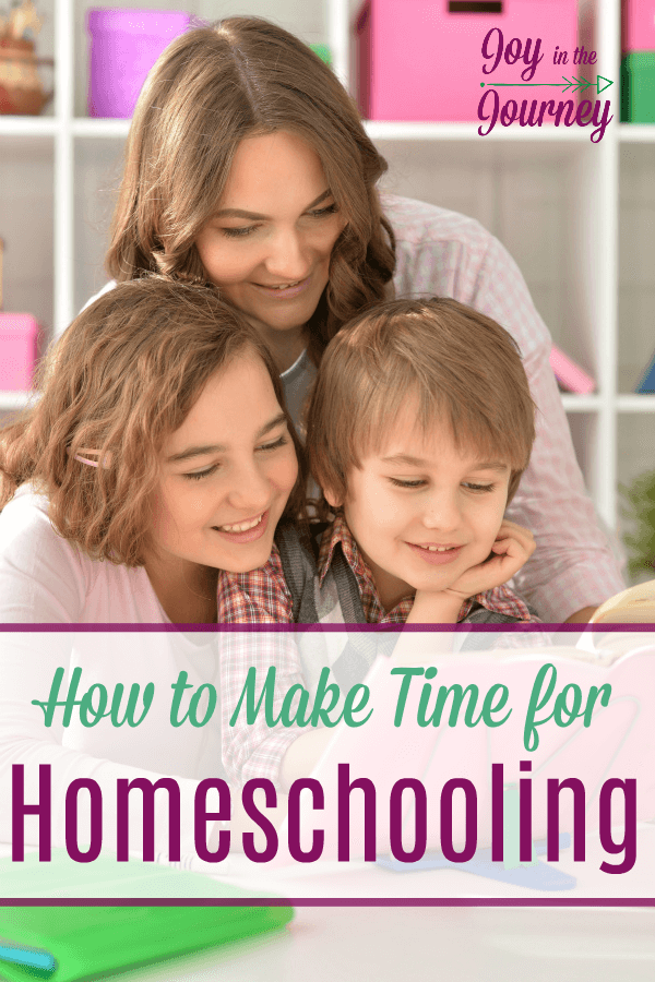 How do you make time for homeschooling? We wear more hats than we know what to do with and we get burnt out.  Here's how to fix it!