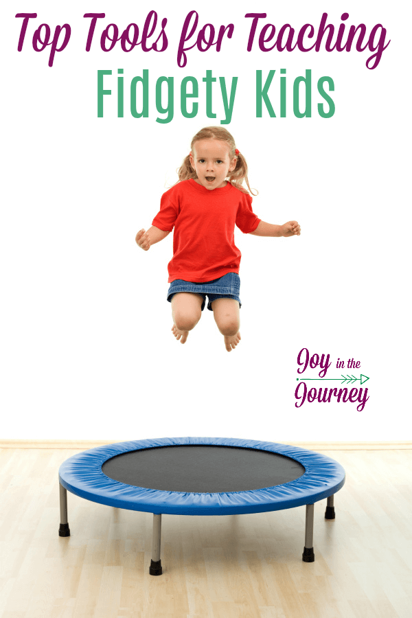 Teaching fidgety kids requires patience and research. You need tools to help him learn, but that will not distract siblings. Tools for teaching fidgety kids can help. #ADHD #fidgetykids #homeschooltips #homeschooling #ihsnet #homeschoolhelp #homeschoolresources #homeschooltools #fidgettoys #fidgettools