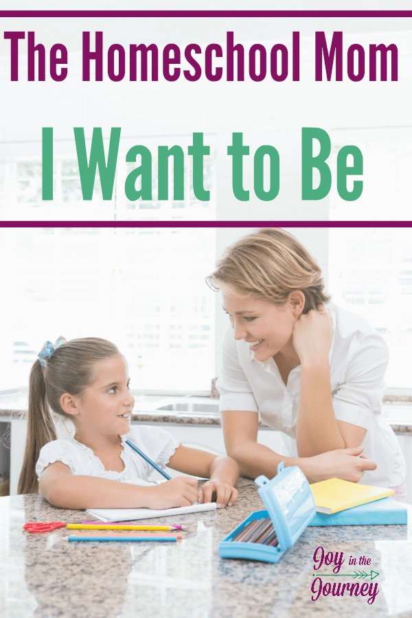 Are you happy with the homeschool mom that you are? What kind of homeschool mom do you want to be? Chances are you just need to change your perspective to become the homeschool mom your kids need!