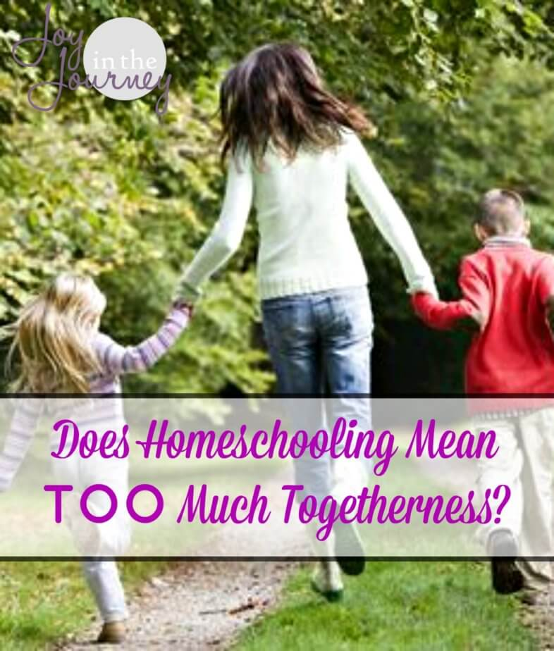 Does Homeschooling Mean TOO Much Togetherness?