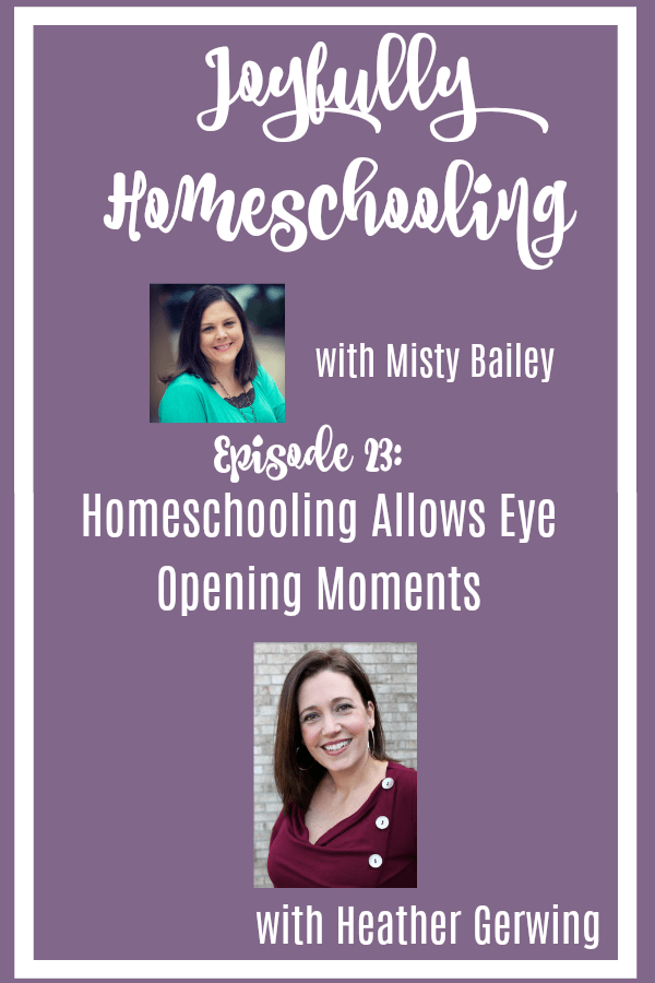 Homeschooling moments allow us to experience many things with our children. One of those things are those eye opening moments. These experiences can bring us joy on our homeschool journey even when homeschooling is hard.