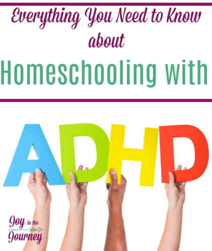 Are you homeschooling a child with ADHD? This can be an exhausting job, but, so rewarding. We are laying out resources for the ADHD child, encouragement for the parents, and so much more. This is everything you need to know about homeschooling with ADHD.
