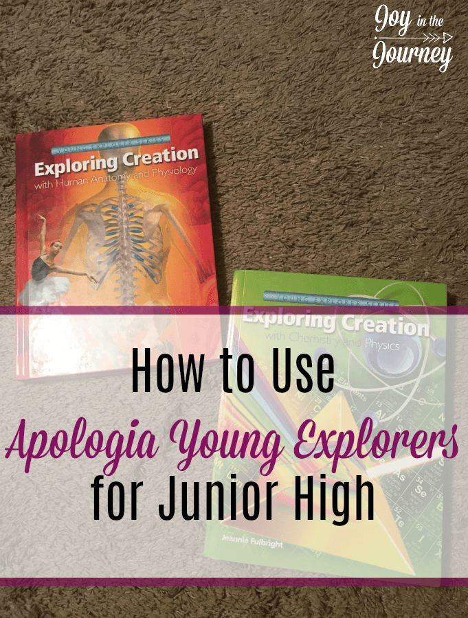 Do you have a child struggling with science? Considering Apologia but not sure if they are ready to move on to Apologia junior high science content? Beef up Apologia Young Explorers for junior high-level science with these tips! #Apologia #Science #YoungExploreres #homeschool #homeschooling #JrHigh #Elementaryscience #homeschoolscience