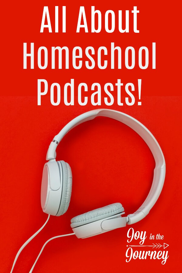 Homeschool podcasts have become a go-to resource for new ideas, fresh perspective, and encouragement on our homeschool journey. #homeschoolpodcasts #homeschooling #Podcasts