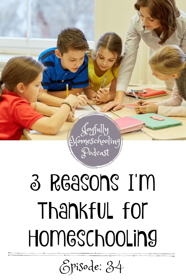 As we enter into the holiday season I am sharing the reasons why I am thankful for homeschooling. There are many benefits of homeschooling and some of them you may not even know of!
