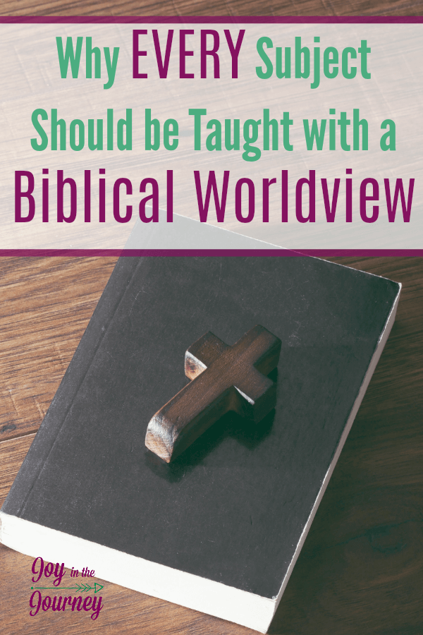 As Christian homeschool parents, we want to raise our children with a Biblical worldview. But, how do we do that if the Bible is just a subject? We can't! Bible is more than that, and we are going to break down exactly why.
