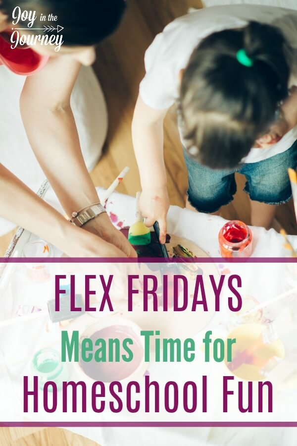 They were hating homeschooling. They needed a balance between schoolwork and exploring their own interests. They were trying to find time for homeschool projects. The solution? Flex Fridays!