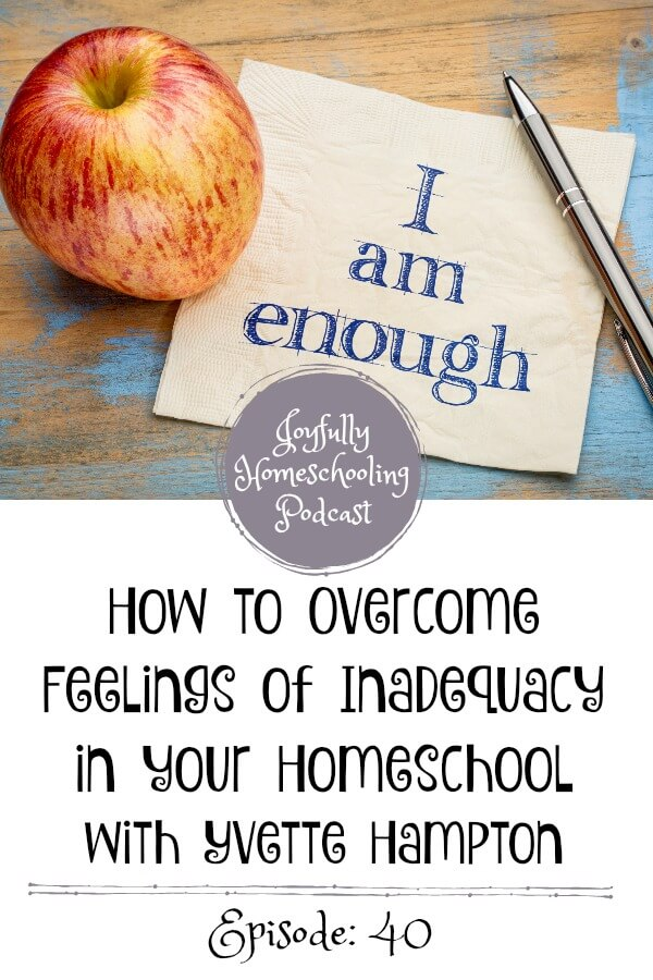 In today's episode, we chat about Yvette's upcoming production: Schoolhouse Rocked, but she also lets us in on some of her homeschool struggles and fears like feeling inadequate to homeschool