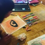 Homeschool Art with Chalk Pastels