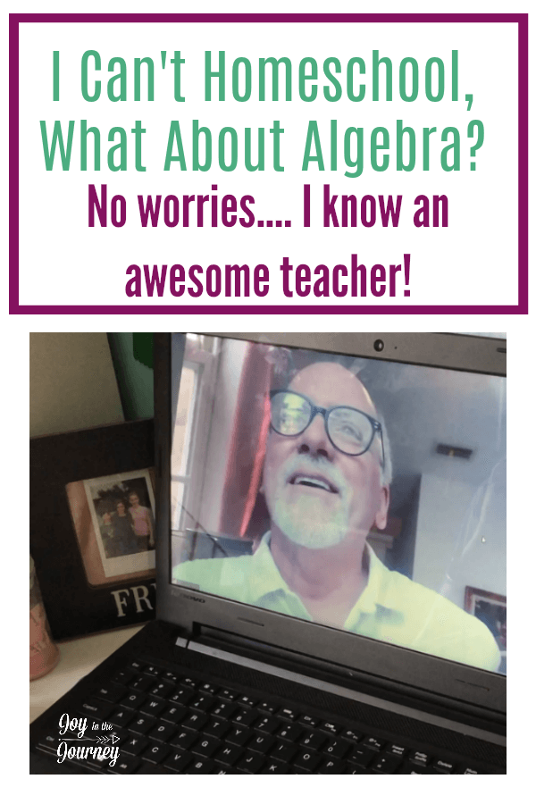 Think you can't homeschool because of Algebra? Guess what? I know this great math teacher that can take it off your plate. Mr. D Math is a fun and interactive program that will take your child from dreading math, to loving it.
