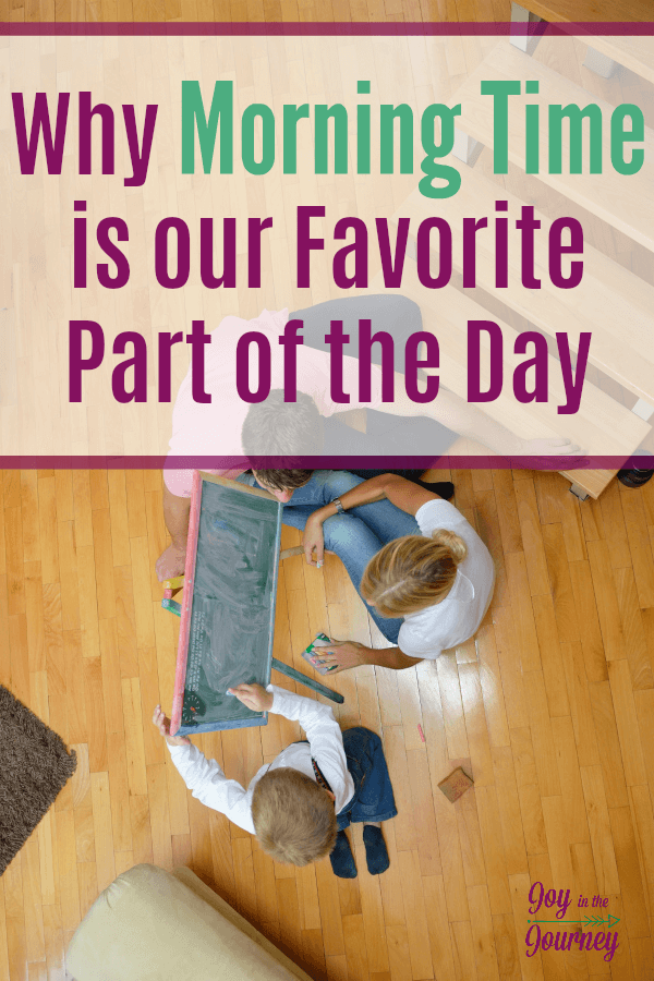 Wondering about morning time ? This time of day is my favorite part of homeschooling. I am sharing the what, why, and how of morning time in your homeschool.