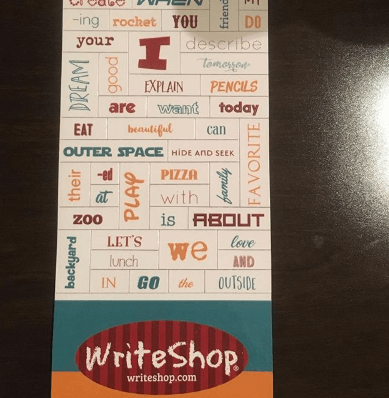 Write shop can encourage your relunctant writer