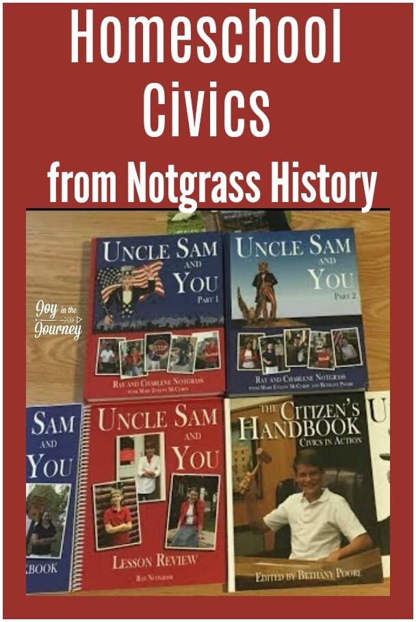 Interested in Notgrass History? I am sharing a peek into Notgrass Middle School History, Uncle Sam and You. It is a great homeschool civics program for your middle schooler.