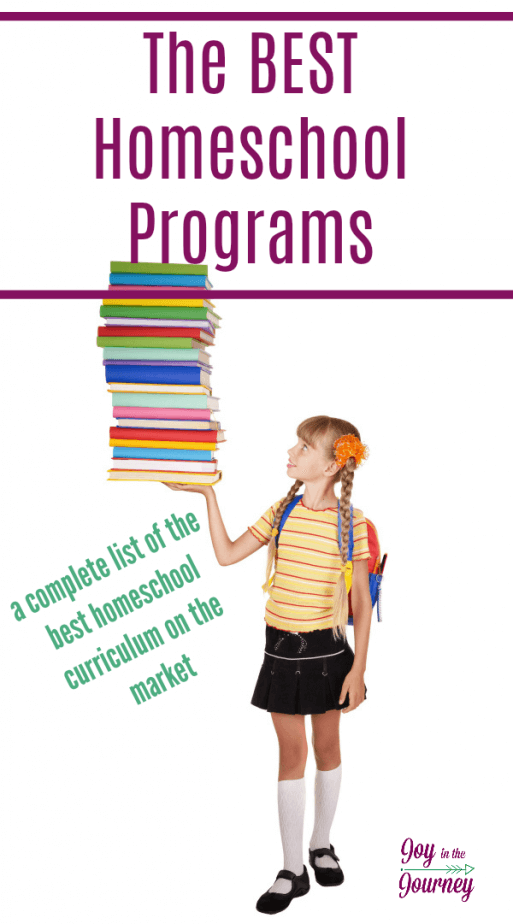 Looking for a new homeschool curriculum? Let us do the research for you. I have compiled the list of the best homeschool programs out there.