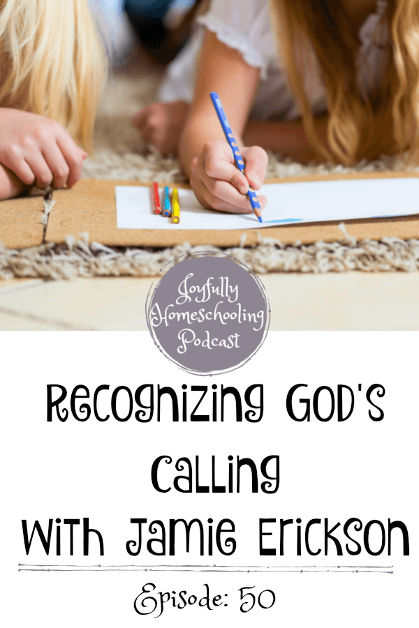 I love the reminder Jamie gives us to embrace the differences each of our kids and the difference in education they get from their mom through the years. This episode is a wealth of information meant to encourage and equip the homeschool mom.