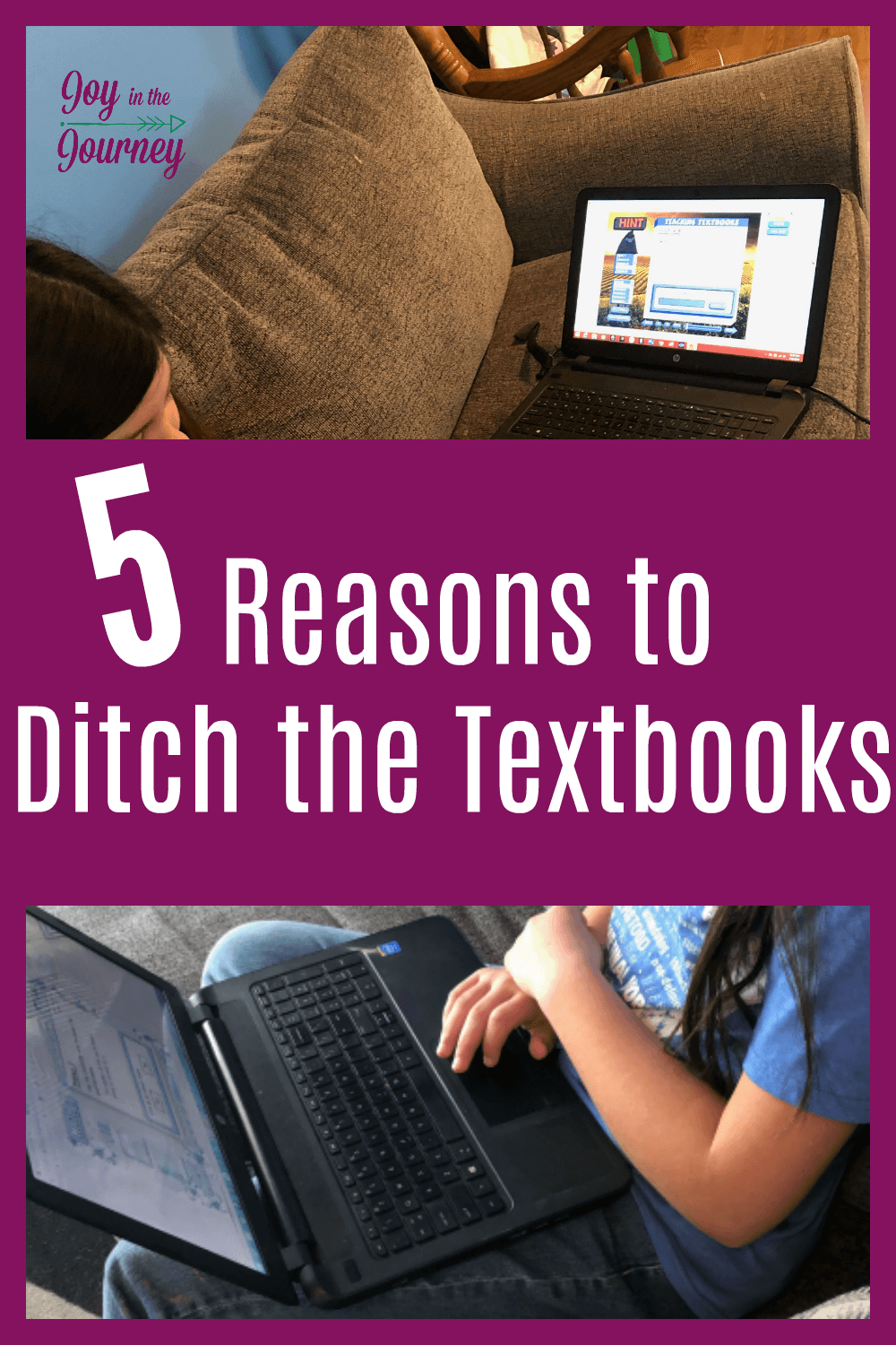 Are you ready to ditch the textbooks? Thanks to programs like Teaching Textbooks, I have realized that ditching the textbooks does not mean our children aren't getting a high-quality education. Here are 5 reasons for you to consider ditching the textbooks too!