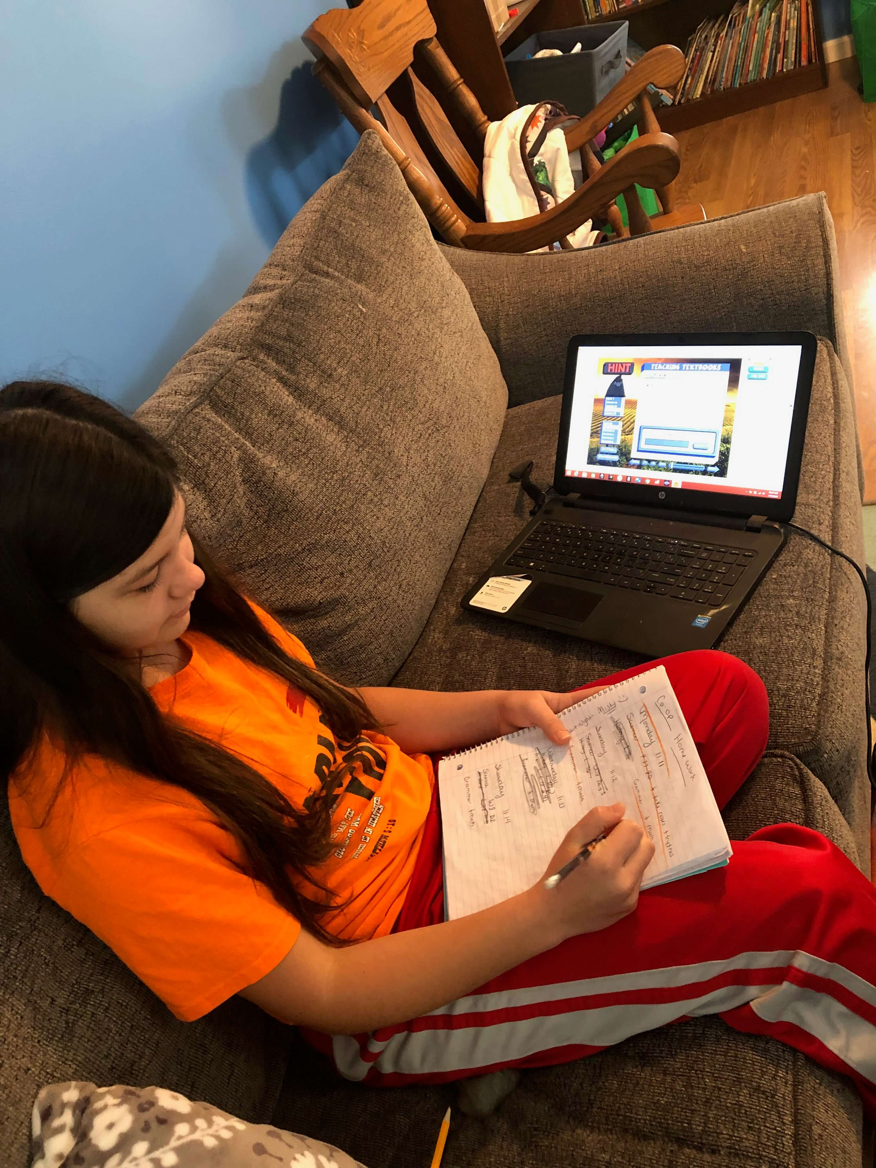 Teaching Textbooks math program truly makes homeschooling easy thanks to the flexibility of the program and the ability it gives my children to work independently.