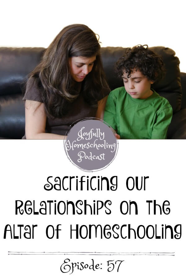 Relationships and homeschooling. It is a common fear that parents have before they begin homeschooling. The truth is homeschooling CAN hurt a relationship. Here is our story.