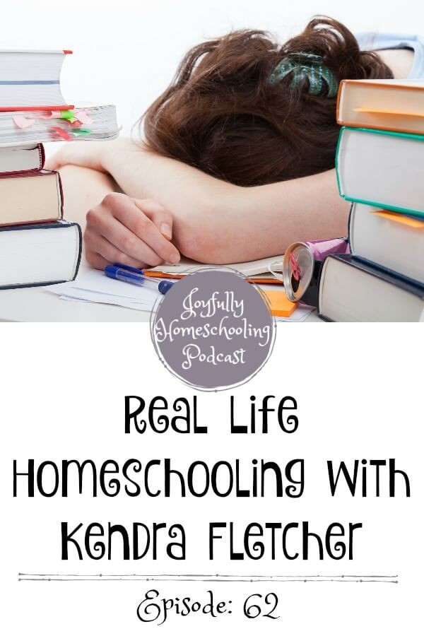 Wonder what real life homeschooling looks like? We are chatting all things homeschooling with Kendra Fletcher. This homeschool veteran will leave you equipped for a more joyful homeschool!