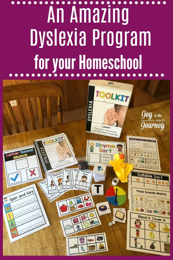 Are you homeschooling a child with dyslexia? This dyslexia program is the perfect addition to your homeschool curriculum. It includes everything you need to teach your dyslexic child to read!