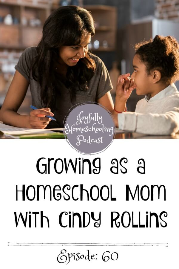 we chat homeschool curriculum, growth as a homeschool mom, how we can educate ourselves and so much more. Cindy has SO much wisdom to offer the homeschool community and I know this episode will encourage you all to have a joyful homeschool.