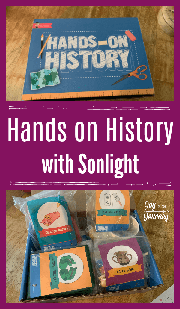 My kids LOVE projects. Which means hands-on projects are a huge part of our homeschool. That is why when I heard about Sonlight History's new hands on history kits, I couldn't wait to try them out!