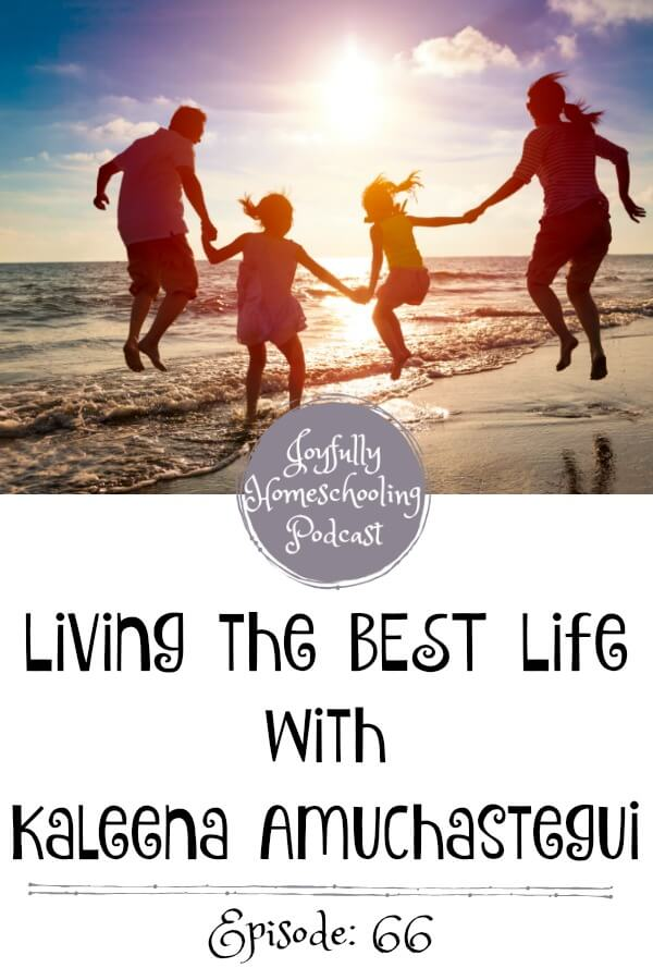 In this episode, Kaleena and I chat homeschool joys, struggles, fears and more. She reminds us that we need to live life with our children and worry less about traditional academics and focus more on education in LIFE.
