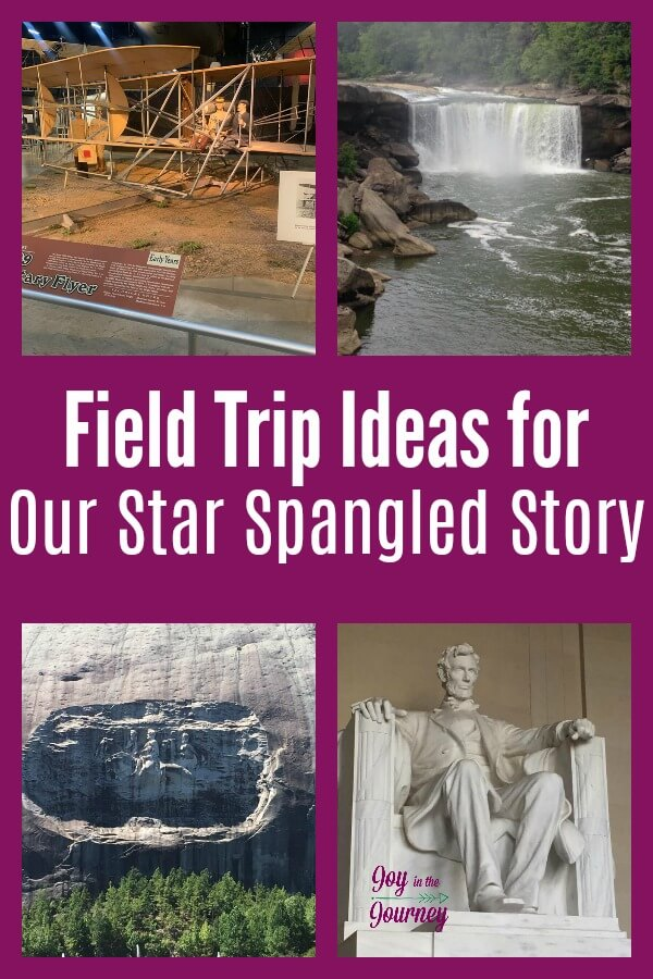 Want to know more about the places you can visit while studying Our Star-Spangled Story? Check out this field trip guide for Our Star-Spangled Story.