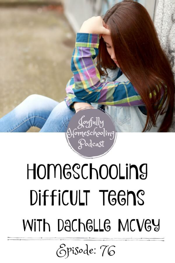 If you are parenting teens, feel like a failure at this whole motherhood thing, or are just nervous about one-day having teens, don't miss this episode! It will help you have more joy in your homeschool. I guarantee it!