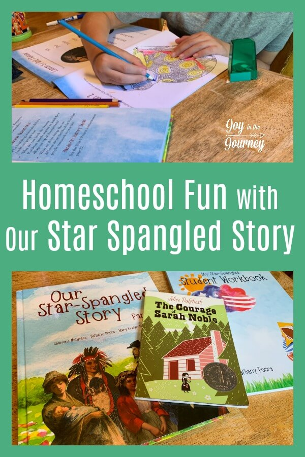 Are you looking for a history program that will make history FUN for your elementary aged kiddos? Check out Notgrass History, Our Star Spangled Story! This hands on history program is perfect for the busy homeschool mom.