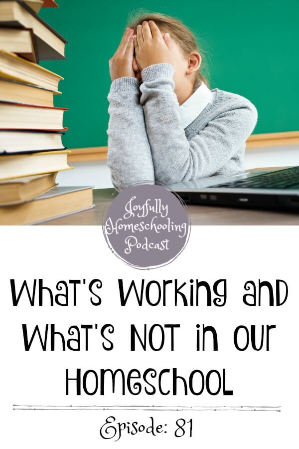 Catching up with a friend of mine in this episode, we are chatting about whats working in our homeschool and what is NOT. Sharing some of our favorite homeschool resources, tips and more.