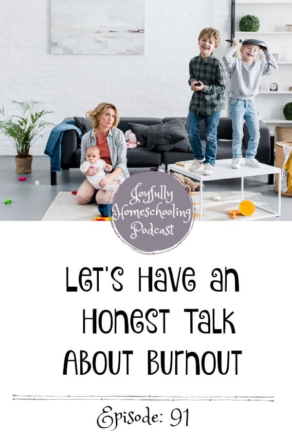 Homeschool burnout is real, and we don't talk about it near enough. Today, I am having an honest talk about burnout with my friend Davonne Parks.