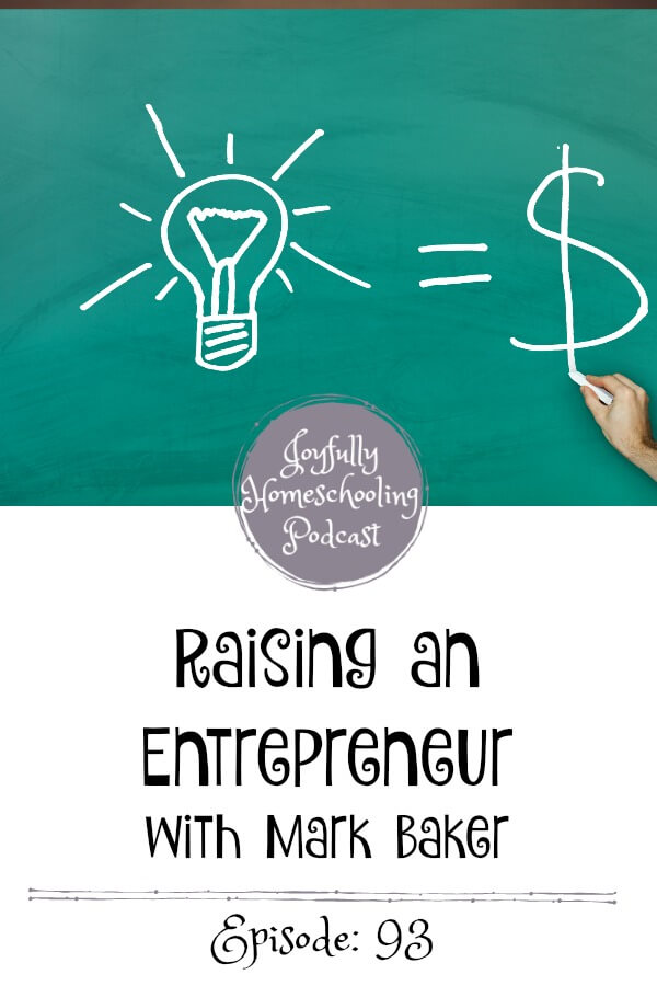 Do you want to raise an entrepreneur? We are chatting this topic and how we can help our kids have a good work ethic who love the Lord and want to work and serve.