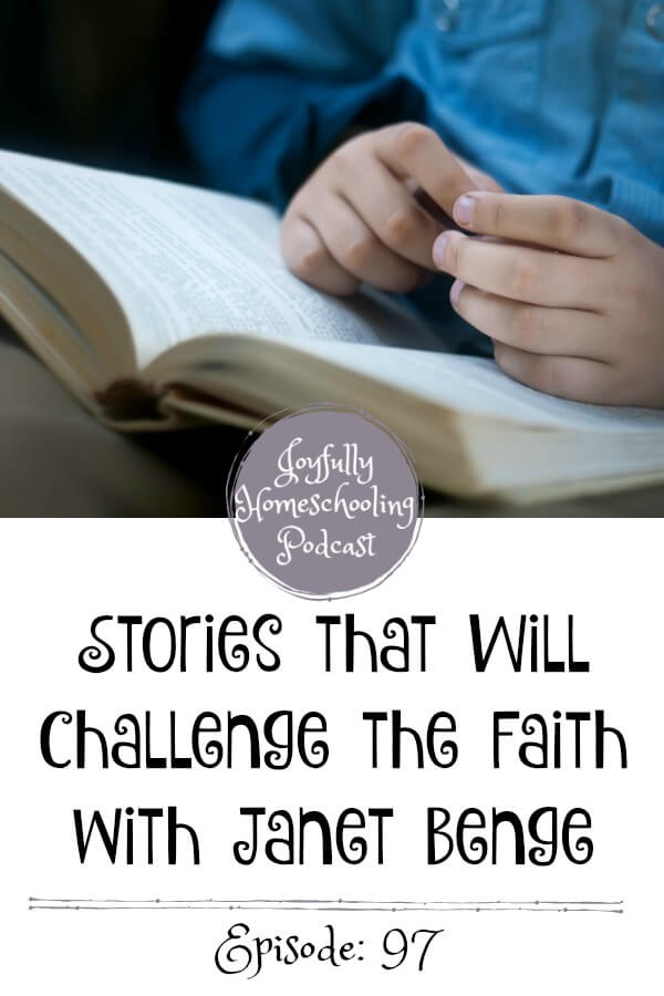 Have you ever read a story that just challenges your faith? That is what the stories from author Janet Benge have done for me and my homeschool. In this podcast interview, we are chatting faith, missions, good books and so much more.