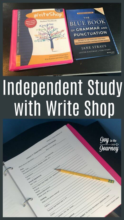Are you looking for a high school writing program? Check out WriteShop I. This video-based program is perfect for the busy homeschool mom, and my high schooler loved it!