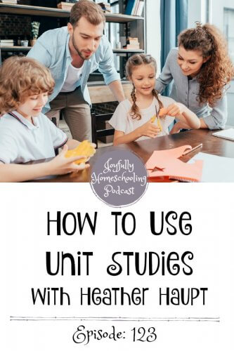 Have you ever wondered how to use unit studies? In this episode, we are diving into the method of unit studies. Learn how to make one, how to use one, and so much more with Heather Haupt.