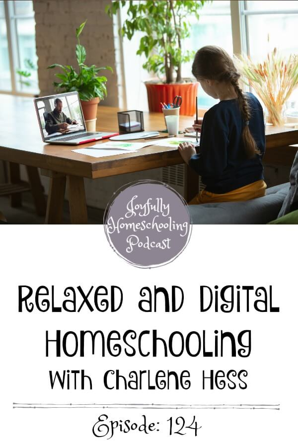 Today we are talking about the relaxed digital homeschooling method. If you hadn't heard of this homeschooling method you are not alone. Come along and learn with me thanks to Charlene Hess!