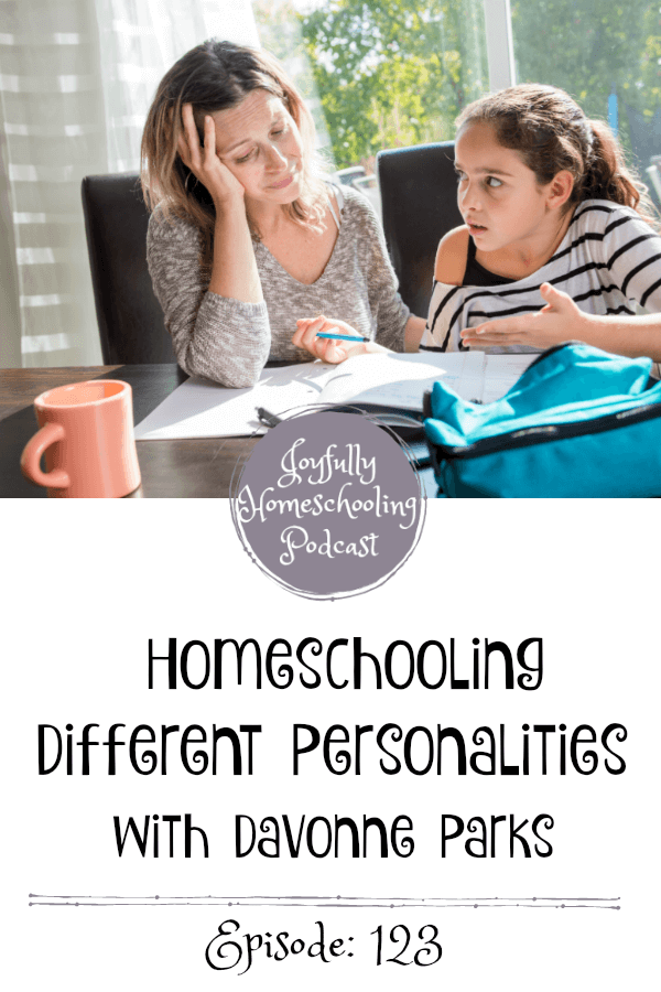 Are you homeschooling different personalities? We understand! Today we are talking all about homeschooling that child who is so different from your easier kiddos.You can do this!