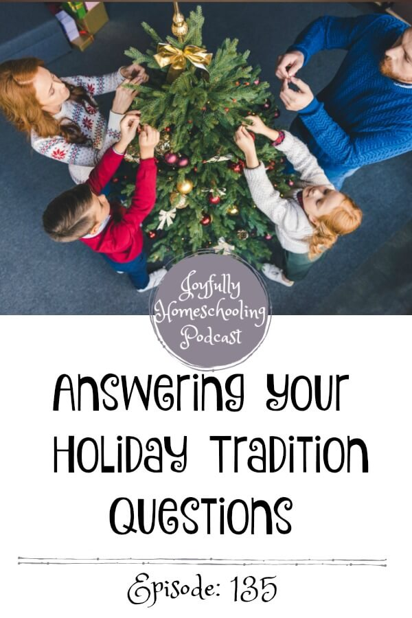 Sharing some of our favorite holiday traditions, answering your holiday-related questions, and more. This is a fun getting to know me episode that I hope you all enjoy :)