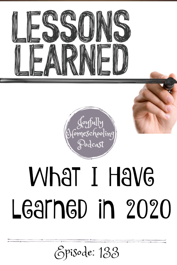 The year 2020 has been a whirlwind, today I am sharing some of the lessons learned from 2020, who our hope is really in and how we can all move forward.
